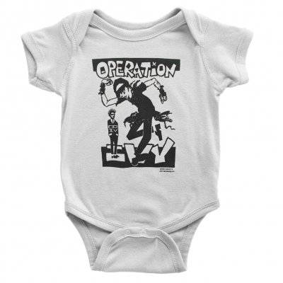 operation-ivy - Skankin Onesie (White)