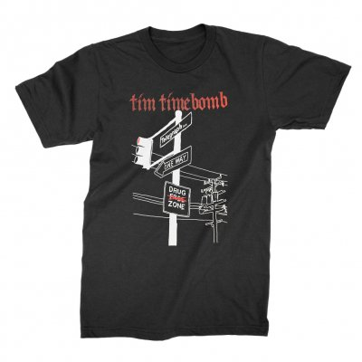 hellcat-records - Telegraph Tee (Black)