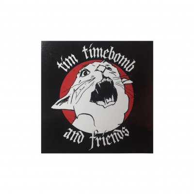 tim-timebomb - Mad Cat Sticker
