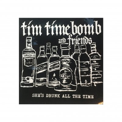 tim-timebomb - She's Drunk Sticker