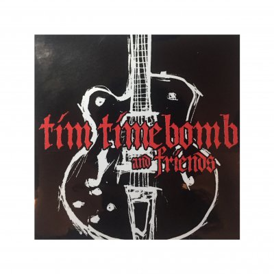 tim-timebomb - Guitar Sticker