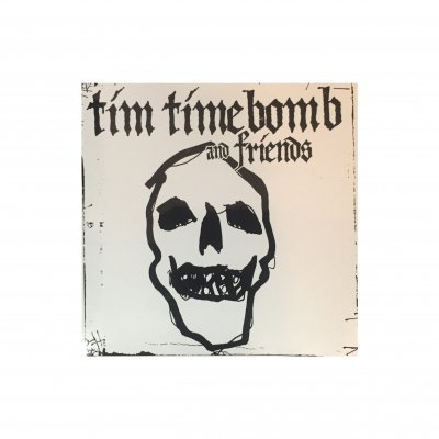 tim-timebomb - Skull Sticker