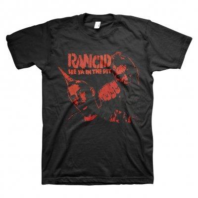 rancid - See Ya In The Pit Tee (Black)