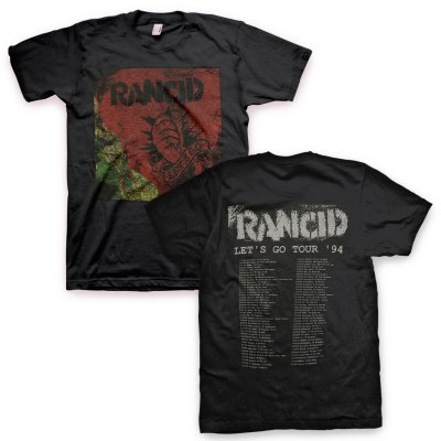 rancid - Rancid Let's Go Tour Tee (Black)