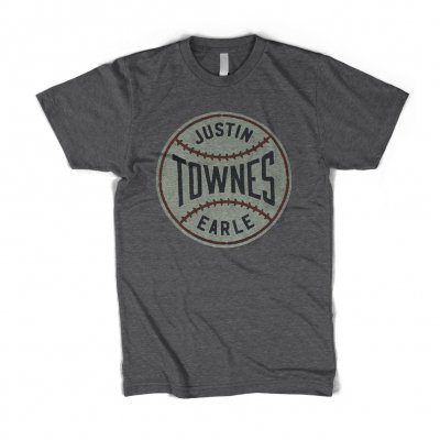 justin-townes-earle - Baseball T-Shirt (Heather Grey)