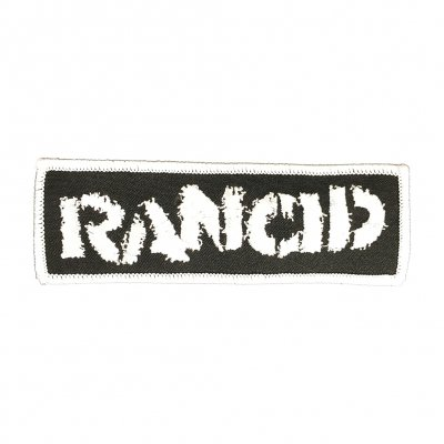 rancid - Rancid Stencil Logo Embroidered Patch
