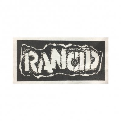 rancid - Stencil Logo Cloth Patch