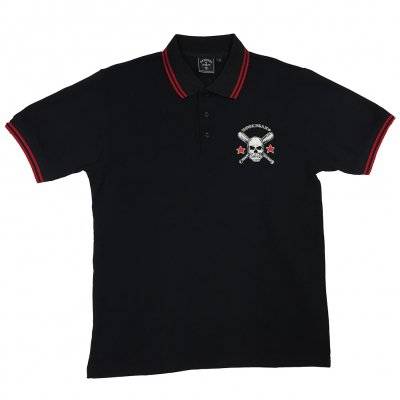 rancid - Hooligans Embroidered Polo (Black)