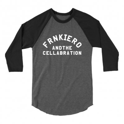 frank-iero - Cellabration Baseball Raglan (Black/Grey)