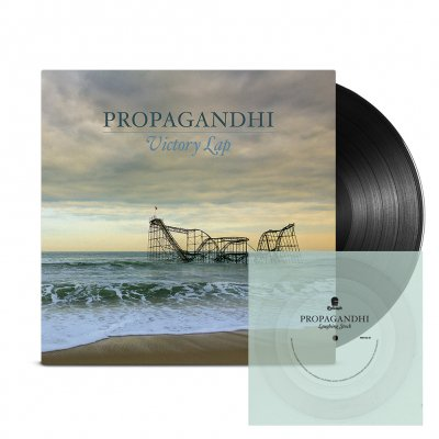 Propagandhi - Victory Lap LP (Black) + Flexi (Clear) Bundle