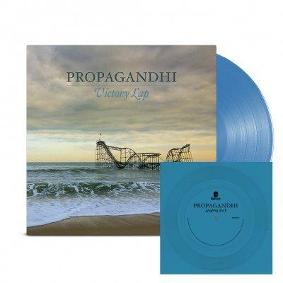 propagandhi - Victory Lap LP (Blue) + Flexi (Blue) Bundle