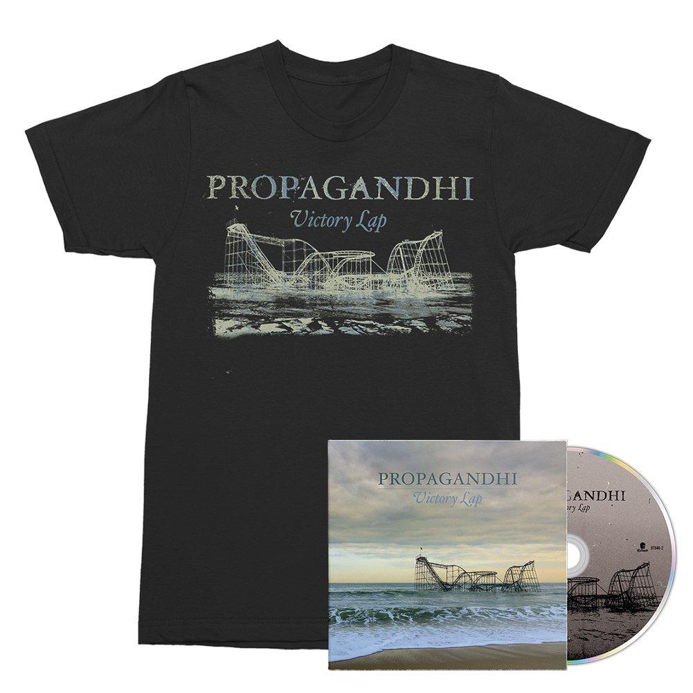 IMAGE | Victory Lap CD + Victory Lap Album Tee (Black) Bundle
