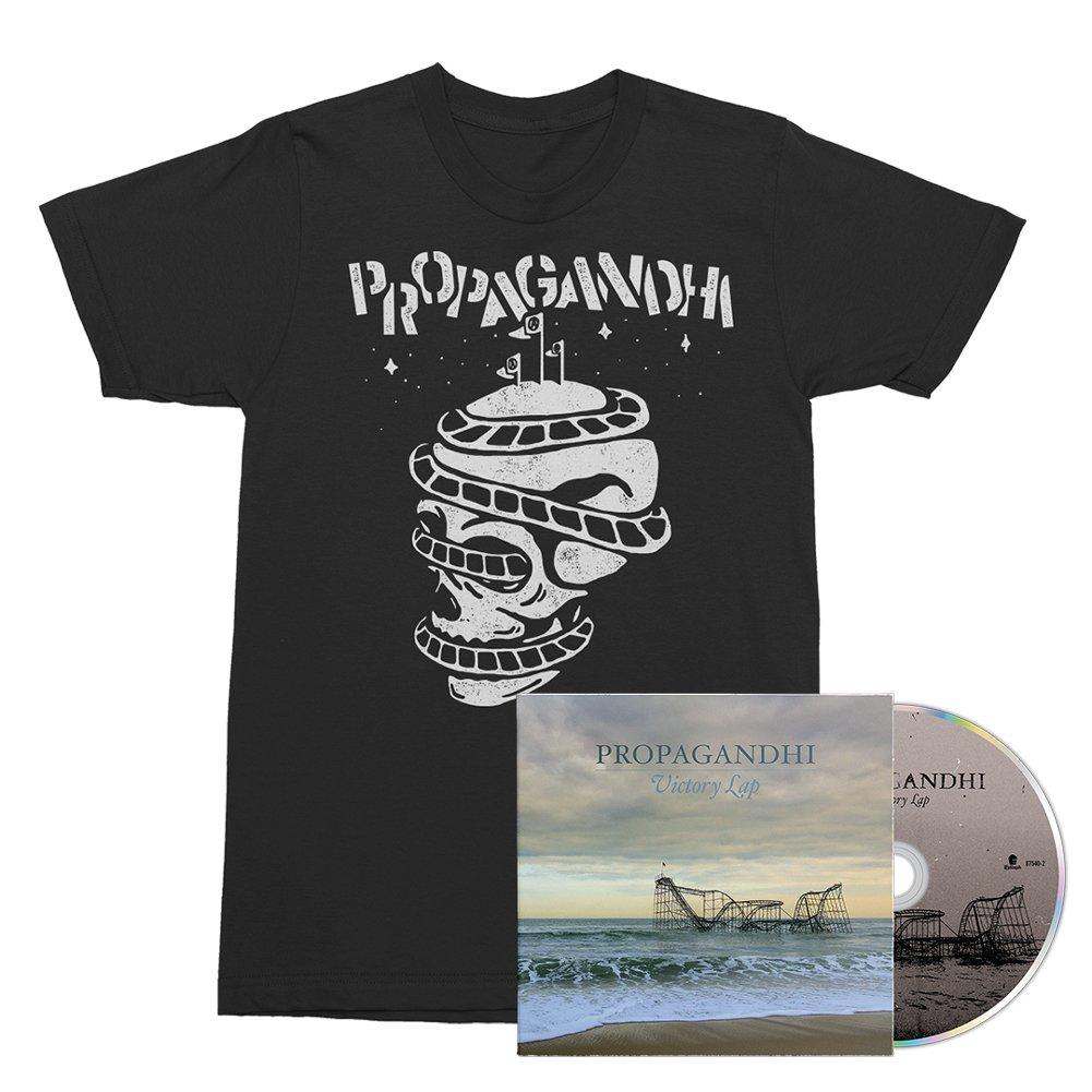 IMAGE | Victory Lap CD + Rollercoaster Skull Tee (Black) Bundle