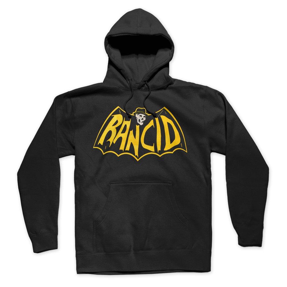 IMAGE | Skele-Tim Bat Logo Pullover Hoodie (Black)