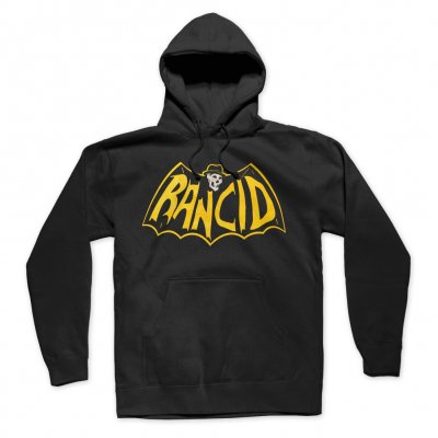 rancid - Skele-Tim Bat Logo Pullover Hoodie (Black)