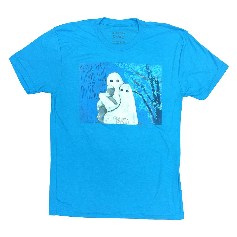IMAGE   Parachutes Album T-Shirt (Heather Blue)