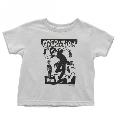operation-ivy - Skankin Toddler Tee (White)