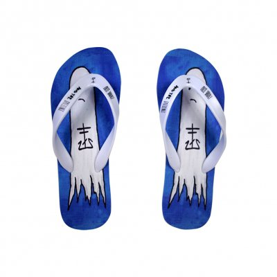 frank-iero - Boozey Flip Flops (Men's Size 6)