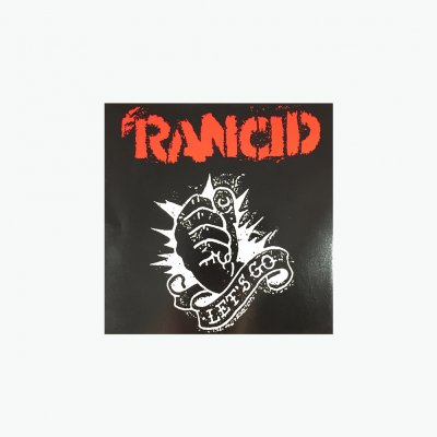 rancid - Let's Go Sticker