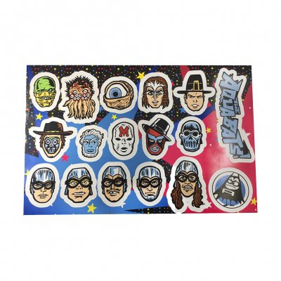 the-aquabats - Super Rad Sticker Sheet