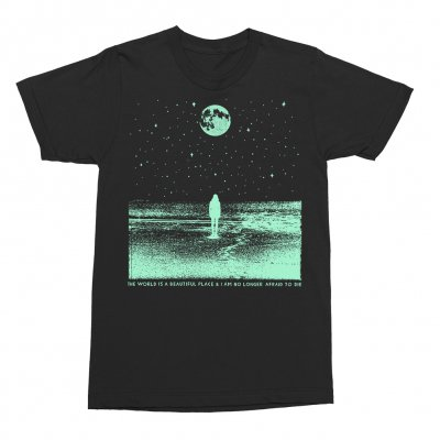 The World Is A Beautiful Place & I Am No Longer Afraid To Die - Stargazer Tee (Black)