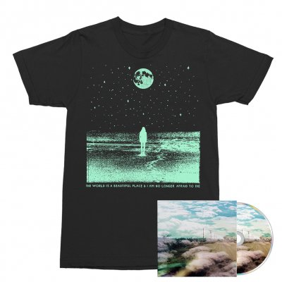 The World Is A Beautiful Place & I Am No Longer Afraid To Die - Always Foreign CD + Stargazer Tee (Black) Bundle