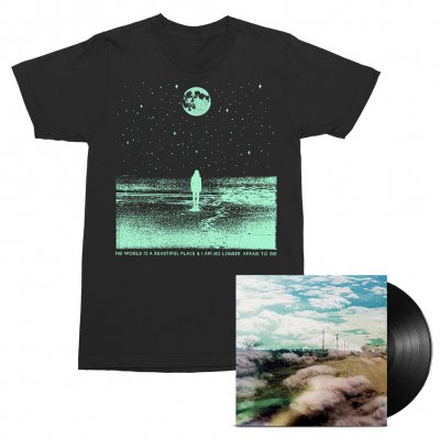 The World Is A Beautiful Place & I Am No Longer Afraid To Die - Always Foreign LP (Black) + Stargazer Tee (Black) Bundle