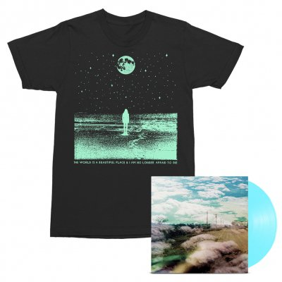 The World Is A Beautiful Place & I Am No Longer Afraid To Die - Always Foreign LP (Sky Blue) + Stargazer Tee (Black) Bundle