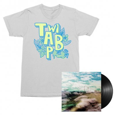 The World Is A Beautiful Place & I Am No Longer Afraid To Die - Always Foreign LP (Black) + Flowers Tee (White) Bundle