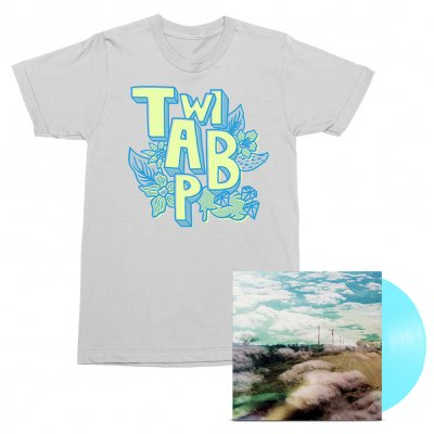 Always Foreign LP (Sky Blue) + Flowers Tee (White) Bundle