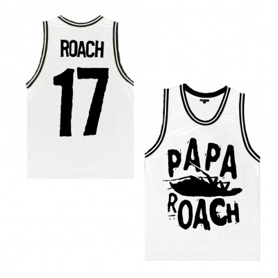 Limited Edition Classic Logo Basketball Jersey (Wh