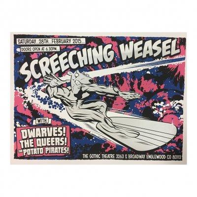 screeching-weasel - 2.28.15 Englewood Poster