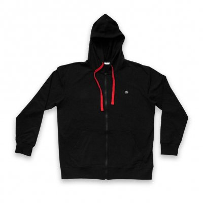 Rune Zip-Up (Black/Red)