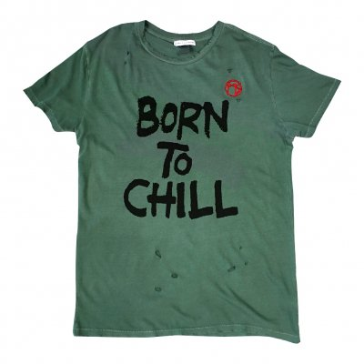matt-skiba - Born To Chill Limited Edition Distressed Tee