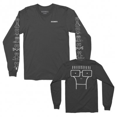 descendents - Milo Illustration Longsleeve T-Shirt (Black)