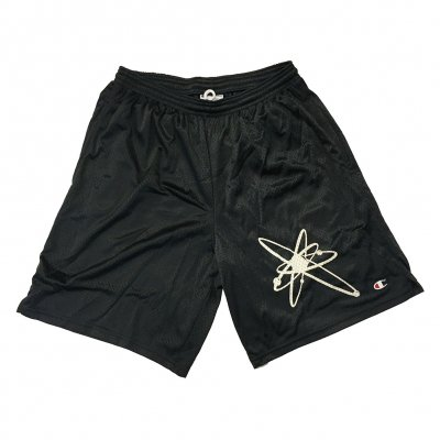 strung-out - Astrolux Basketball Shorts (Black)