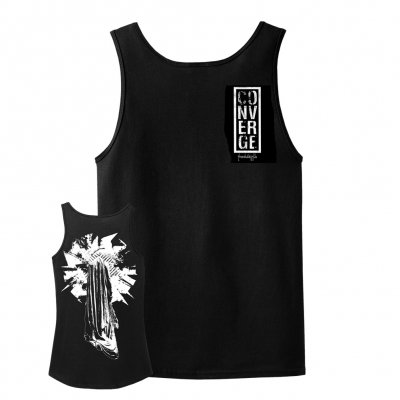 converge - The Dusk In Us Art Tank Top (Black)