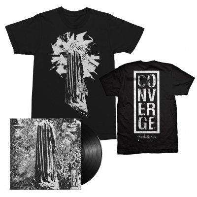 Converge - The Dusk In Us LP (Black) + The Dusk In Us Art Tee (Black) Bundle
