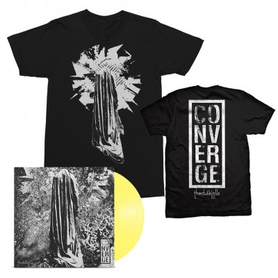 epitaph-records - The Dusk In Us LP (Yellow) + The Dusk In Us Art Tee (Black) Bundle