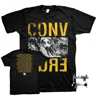 converge - The Dusk In Us Digital Download + Limited Edition I Can Tell You About Pain Tee (Yellow/Black) + Enamel Pin Bundle