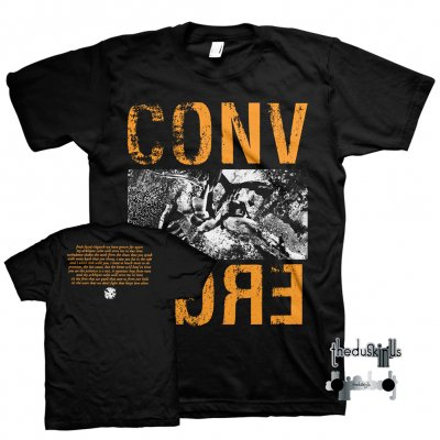 converge - The Dusk In Us Digital Download + Limited Edition Arkhipov Calm Tee (Light Orange/Black) + Enamel Pin Bundle