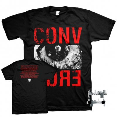 converge - The Dusk In Us Digital Download + Limited Edition Eye Of The Quarrel Tee (Red/Black) + Enamel Pin Bundle