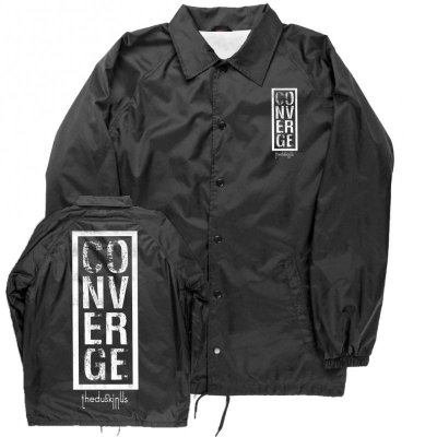 converge - The Dusk In Us Logo Windbreaker (Black)