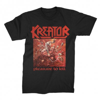 Kreator - Pleasure To Kill T-Shirt (Black)