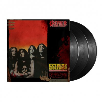 kreator - Extreme Aggression 3xLP - 180 Gram (Black)