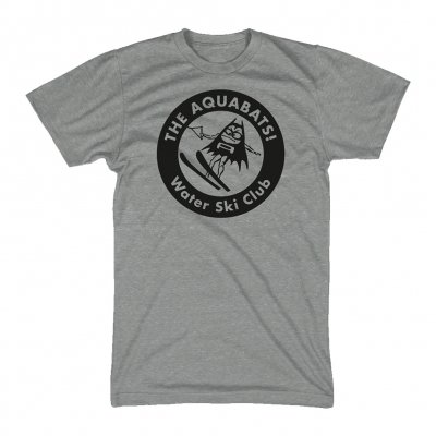the-aquabats - Waterski Tee (Heather Gray)