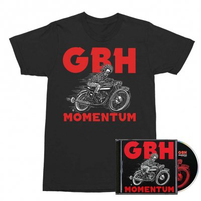 GBH - Momentum CD + Momentum Cover Tee (Black) Bundle