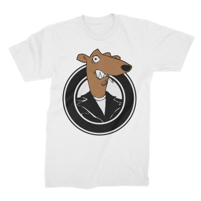 screeching-weasel - Color Weasel T-Shirt (White)