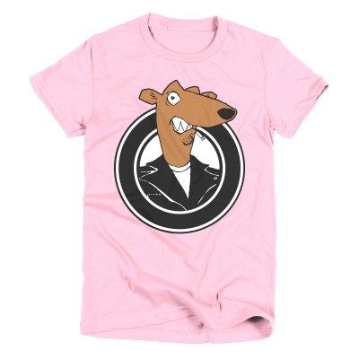 screeching-weasel - Women's Color Weasel T-Shirt (Pink)