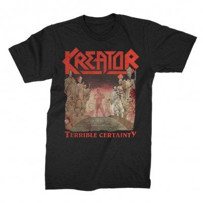 kreator - Terrible Certainty 2xLP (180g Black) + Terrible Certainty T-Shirt (Black) Bundle